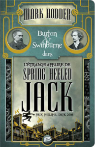 Burton & Swinburne L´Étrange affaire de Spring Heeled Jack