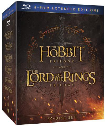 Middle Earth Extended Edition Light 6 films